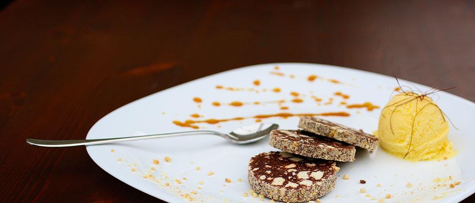 Prova il nostro salame al cioccolato